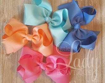 Camp MJC Hair-bow bundle-made to match Matilda Jane's spring  collection, release 1-boutique hair bow bundle-baby bows-custom hair-bows-bow~