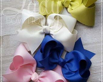 Wish You Were Here-Camp MJC made to match Matilda Jane-Hair bow bundle-bows for babies-Custom Hairbows-bows for girls-bundled hairbows-bows-