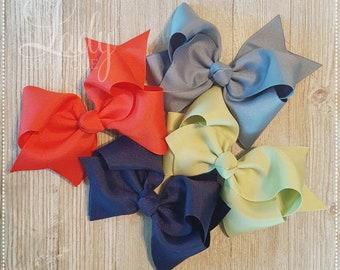 Hair-Bow Bundle-Wish You Were Here-May 2018-Made to Match Matilda Jane-baby hair-bows-headband bows-Jumbo Hairbows-Custom Bows-boutique bows