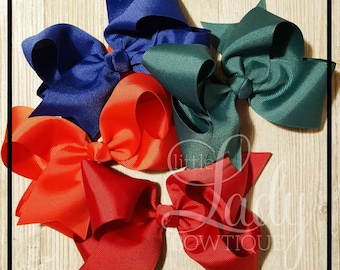 A Very Merry Make Believe Hair-bow bundle~Made to match Matilda Jane~ hair bows for girls~boutique hair-bows~baby bows~holiday collection~~~
