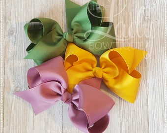 Camp MJC hair bow bundle~Made to match Matilda Jane's spring collection, release 1~girl Hairbows~baby bows~boutique hair-bows~made to match~