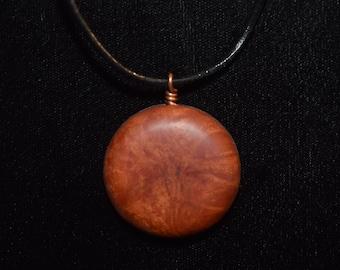 Manzanita Burl Wood Pendant
