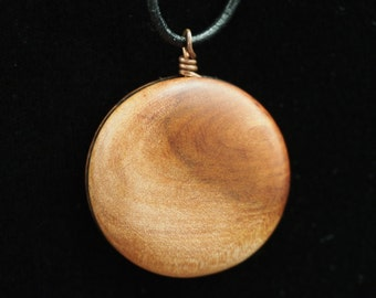 Madrone Wood Pendant