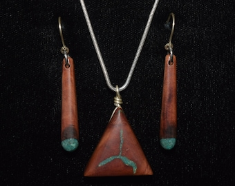Madrone with Turquoise