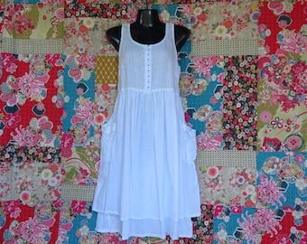 White Linen Dress, Linen dress, Summer dress, Linen clothing, Cotton dress, Sundress, Black Linen dress, Wedding Dress, Maternity Dress.