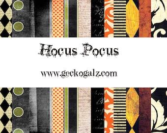 Hocus Pocus Digital Paper Pack