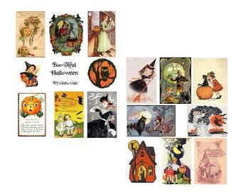 Boo-Tiful Too Halloween Collage Set