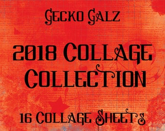 2018 Digital Collage Collection Kit
