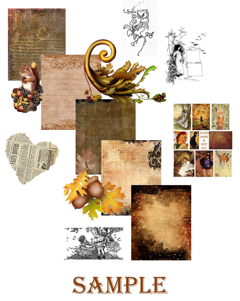 Autumn Calling Craft Kit image 1