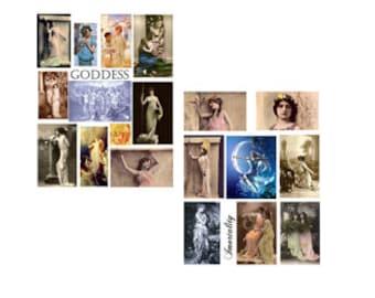 Goddess Digital Collage Set