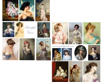 Beautiful Visions Digital Collage Set