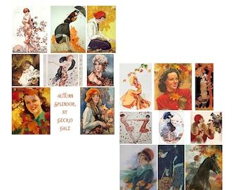 Autumn Splendor Collage Set