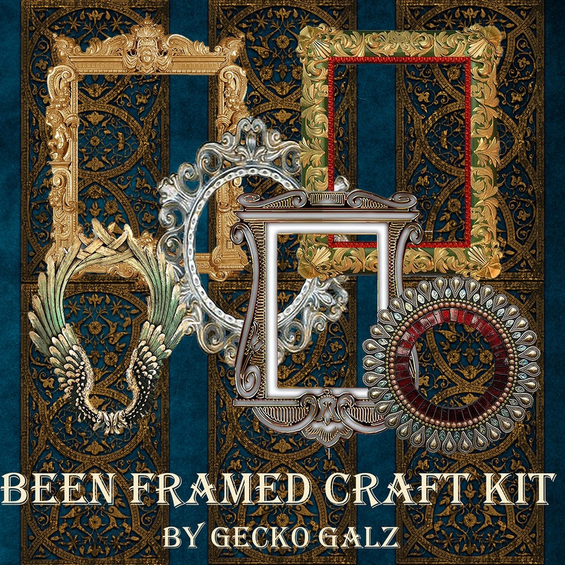 Been Framed Craft Kit image 0