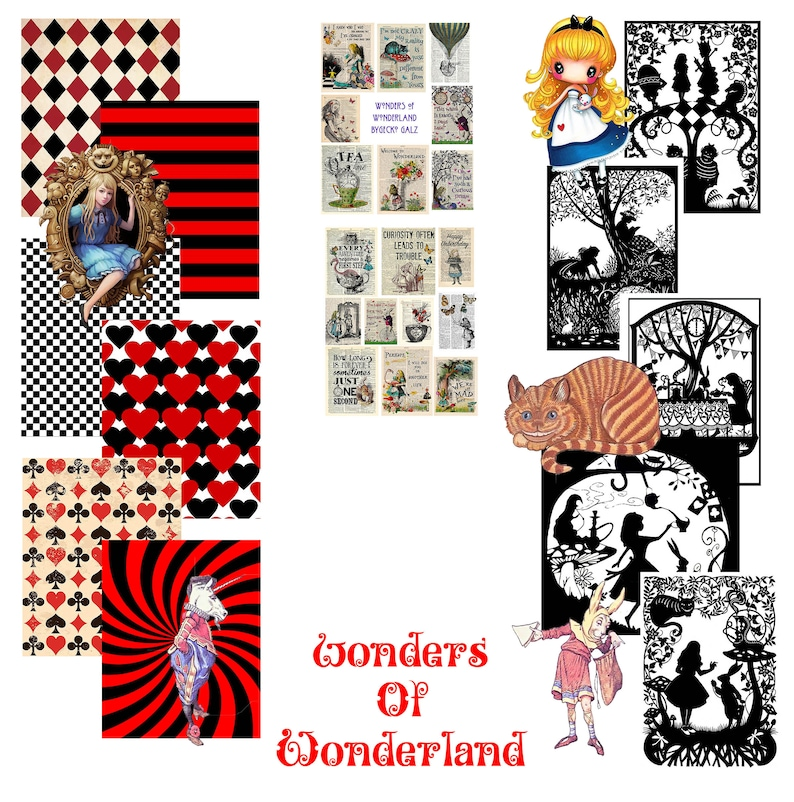 Wonders of Wonderland Craft Kit image 1