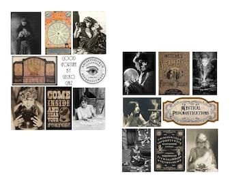 Good Fortune Collage Set