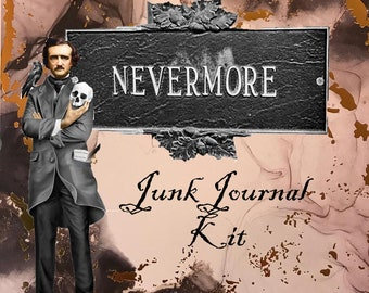 Nevermore Digital Junk Journal Kit