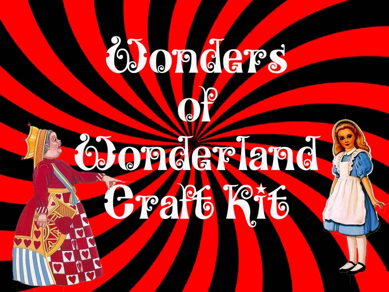 Wonders of Wonderland Craft Kit image 0