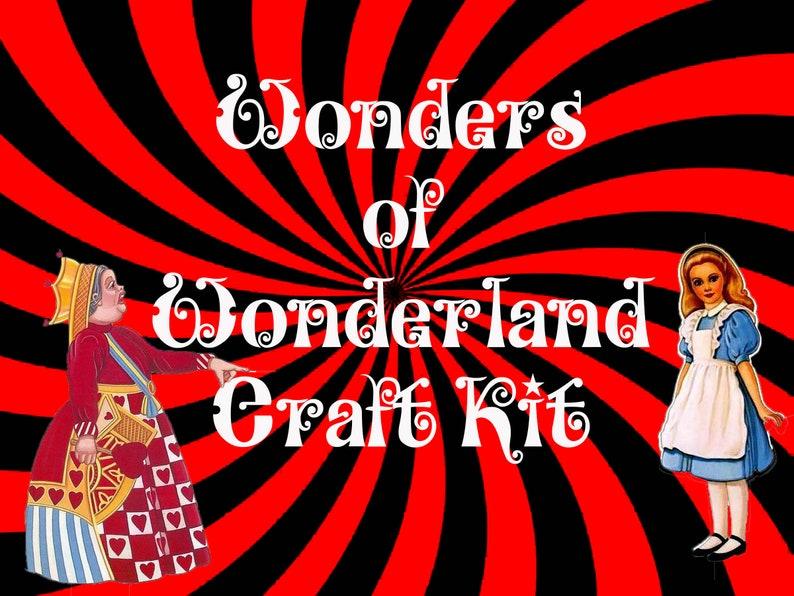 Wonders of Wonderland Craft Kit image 0