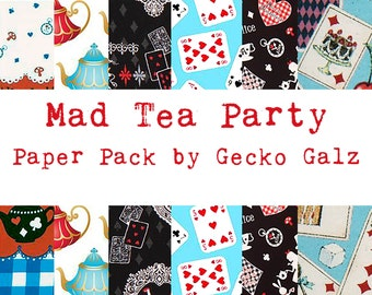 Mad Tea Party Mini Paper Pack