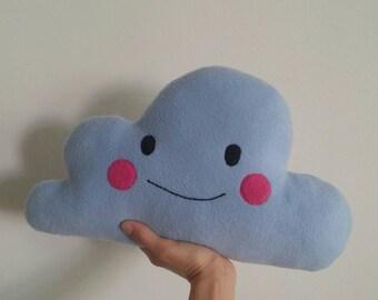 Kawaii cloud cushion (Made on request)