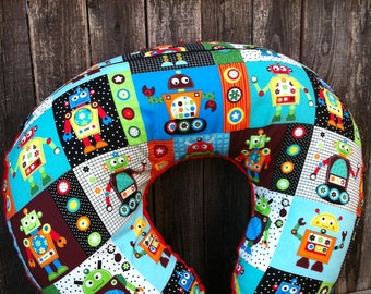 Minky Boppy Cover with zipper closure - choose from over 100 fabrics