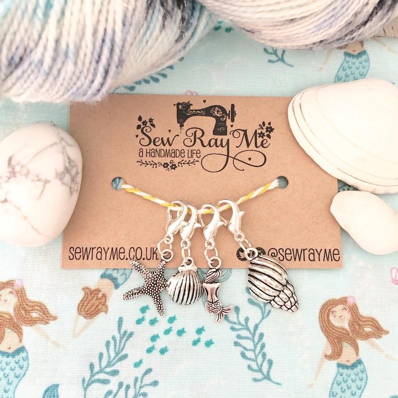 Seaside / shells / starfish / mermaid/ summer / knitting / image 0