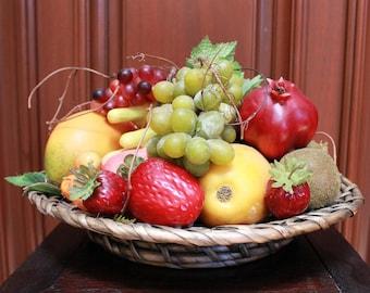 Faux Fruit Platter Arrangement (F18-169)