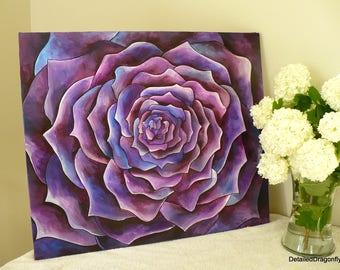 original acrylic painting, wall art for living room, living room wall decor, wall art for girls, colorful wall art, original painting
