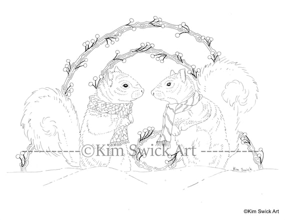 Coloring Book Of Squirrel Coloring Page - Free Squirrel Coloring ... | 441x570
