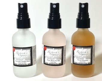 Facial Mist, Rose Water, Neroli, Lavender, Gift Set