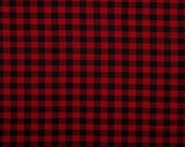 red and black buffalo plaid Flannel Fringe Wrap Scarf 43x43 Infinity multi style neck scarf scarves plaid checkers