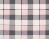 pink and gray plaid Flannel Fringe Wrap Scarf 43x43 Infinity multi style neck scarf scarves plaid checkers