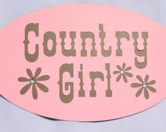 Country Girl Sign, Cowgirl Party, Party Decor, Cowgirl Party Decor, Girls Birthday Party, Birthday Decor