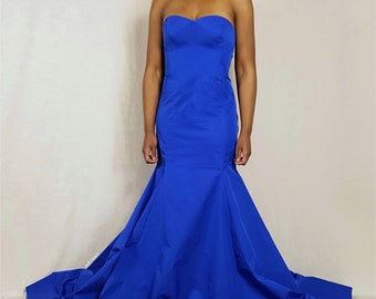 Paneled Mermaid Gown PDF Sewing Pattern