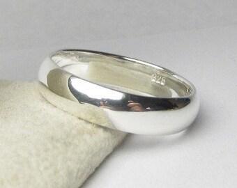 Sterling Silver Wedding Band, Sterling Silver Wedding Ring,  Mens Wedding Band, Mens Wedding Band, Mens Custom Ring