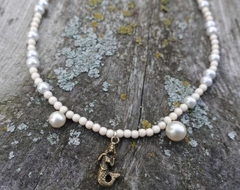 Pearly Mermaid Necklace