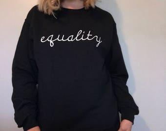 gender equality tröja