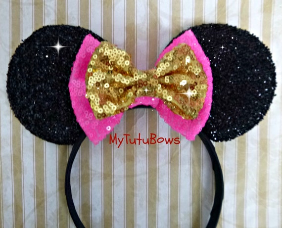 Choose Your Own Bow Color Combination Minnie Mouse Ears  a0636587a76b