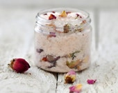 Desert Rose Bath Salts, Botanical Bath Salts, Sample Size, Wedding Favor