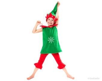 Christmas Christmas Elf Costume For Kids Christmas Gift