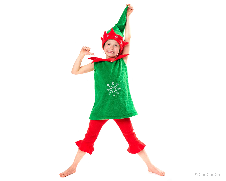 Christmas Christmas Elf Costume For Kids Christmas Gift | Etsy