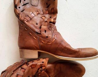 Women's Cowboy & Western Boots   Etsy AU