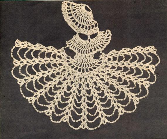 2 Vintage crochet Muster-Krinoline Dame Ecke Motiv Perlen | Etsy