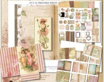 Spring Fling 5x7 Printable Journal Kit
