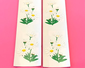 Mrs Grossman DAISIES PHOTOESSENCE Stickers WHITE FLOWERS DAISIES