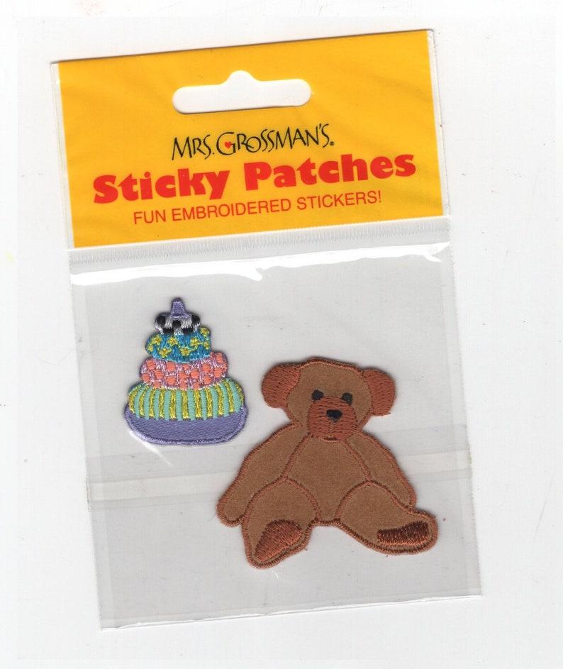 Long Strip Stickers Groovy Graphics 4 Strips Mrs Grossman/'s Stickers