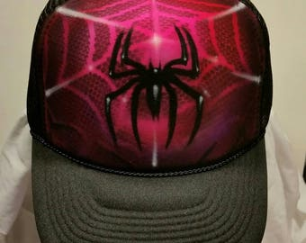 e1c20877a02 Spider Airbrush Hat