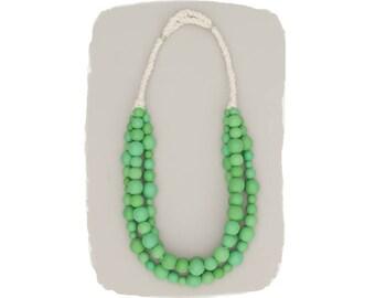 statement necklace // tropical paradise