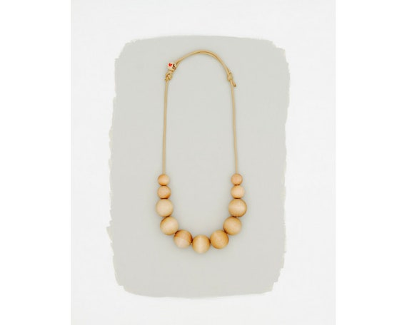 simple necklace // natural // large