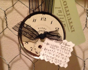 Time for A New Year: Pocket Watch Ornaments